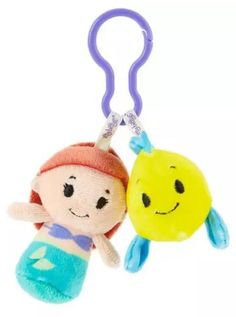 Every princess needs a sidekick. itty bittys® Clippys from Hallmark come in pairs so you can share or trade them with friends. Plus, they're just the right size to clip on a backpack, belt, purse strap or wherever you want them to tag along. Add this cute kids' accessory to your back-to-school shopping list!