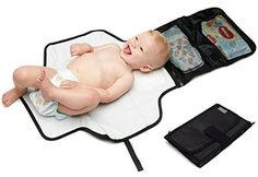 Changing Mat Baby Travel Waterproof Wipe Clean Folding Detachable Storage Bag  #BabyTravel Traveling With Baby, Travel With Kids, Baby Travel, Kids Travel Pillows, Icandy Peach, Baby Car Mirror, Baby Changing Mat, 3 Month Old Baby, Young Baby
