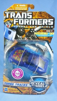 Transformers TURBO TRACKS Reveal The Shield 2010 MOSC