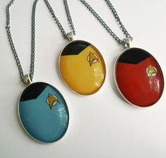 Star Trek pendants
