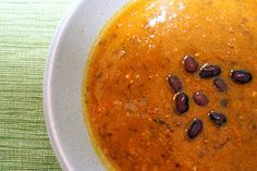 black bean pumpkin soup