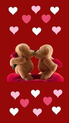 Next Post Previous Post Kissing magical teddy bear bear Next Post Previous Post Valentines Day Pictures, Bear Valentines, Valentines Day Background, Bear Wallpaper, Disney Wallpaper, Iphone Wallpaper, I Love You Pictures, Love You Images, Hugs And Kisses Quotes