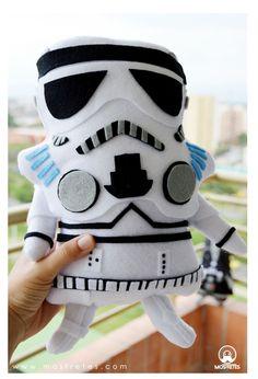 mostretes plush muñecos Stormtrooper starwars theForce hecho a mano en ecofieltro Colombia ,  ¡¡Diseñamos el personaje que desees¡¡¡¡ geek friki  https://www.facebook.com/mostretes www.mostretes.com