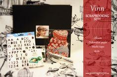 Vinn scrapbooking-sett Washi Tape, Polaroid Film, Scrapbooking, Album, Scrapbooks, Memory Books, Card Book, The Notebook