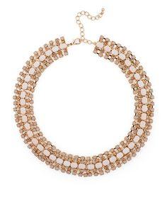 Peach Sparkle Necklace #YoLoQuiero