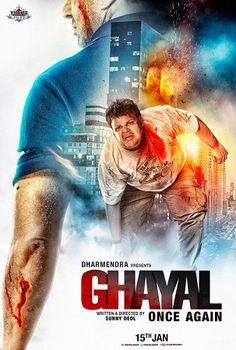 Ghayal Once Again 2016 Full Hindi Movie 700MB DvDScR x264 Worldfree4u