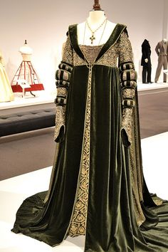 ever after inspired gowns - Google Search. This is the gown Anjelica Huston wore to see the King and Queen, I believe.