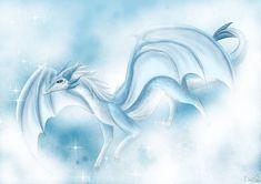 Ice Dragon, Sky, Abstract, Artwork, Dragons, Heaven, Summary, Work Of Art, Auguste Rodin Artwork