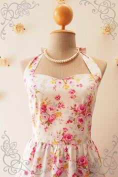 Floral Bridesmaid Dress Floral Summer Dress Sweet by Amordress
