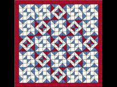 How to Make a Quilt - Blockade Quilt Pattern Video