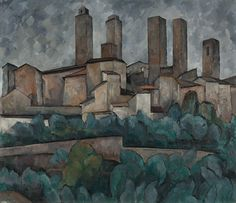 Bild auf Leinwand mit Keilrahmen aus Holz Vincent Van Gogh The Olive Trees 70x50 CM