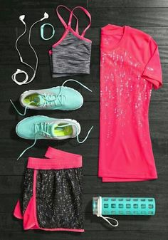 New Sport Outfit Gym Fitness Active Wear 60 Ideas Moda Fitness, Cute Gym Outfits, Sport Outfits, Casual Outfits, Workout Attire, Workout Wear, Workout Outfits, Gym Style, Mode Style