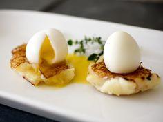 Saffron & Potato Croquettes with Soft-Boiled Quail Eggs