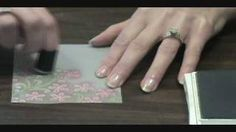 Embossing and Coloring Vellum Card Stock, via YouTube.