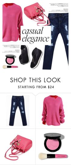 """""""Casual elegance!"""" by helenevlacho ❤ liked on Polyvore featuring Loeffler Randall and Bobbi Brown Cosmetics"""