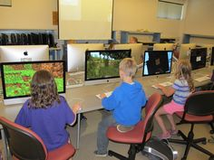 Campers learn a bit of 3D design as they create their own Minecraft characters and import them into their Minecraft games in Minecraft Jr. Design Team