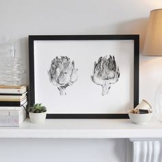 Lâle Güralp artichoke pair print