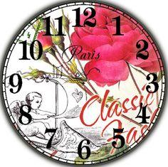 Gallery.ru / Фото #180 - Циферблаты для декупажа часов. - lada45dec