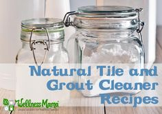 Natural Tile Cleaner - Wellness Mama's DIY tile cleaner is inexpensive and free of harmful toxins. While most store-bought tile and grout products are filled with p. Homemade Grout Cleaner, Tile Grout Cleaner, Cleaners Homemade, Diy Cleaners, Household Cleaning Tips, Homemade Cleaning Products, Natural Cleaning Products, Cleaning Hacks, Household Cleaners