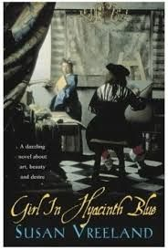 Girl in Hyacinth Blue by Susan Vreeland. This series of tales revolves around an imaginary painting by Vermeer. Each tale reflects the impact the painting has on the lives of those whose lives it either illuminates or darkens #artread
