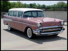 1957 Chevrolet 210 Wagon 283 CI, Automatic presented as lot F184 at Houston, TX 2012 - image1
