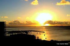 Pôr-do-sol Baía de Todos os Santos Salvador, Bahia - Foto: Ewerton Matos