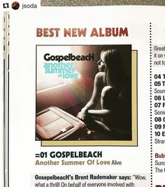 Super blessed and surprised to have @shindig_magazine list @gospelbeach as their #numberone #albumoftheyear !! 🙏🏻🙏🏻🙏🏻🙌🏼🙌🏼🙌🏼☝🏼☝🏼☝🏼 #alivenaturalsounds #aliverecords
