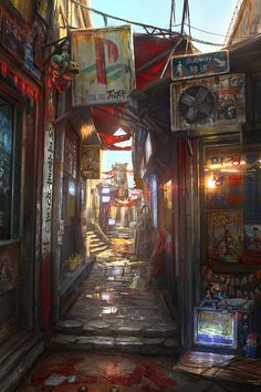 Memory Lane by *JonasDeRo on deviantART