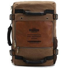 KAUKKO 18L Fashionable Backpack with Laptop Layer,don't missing the big discount now #Discount#
