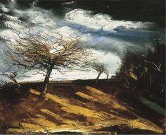 Maurice de Vlaminck (French, 1876–1958), Verger sous la tempête [Orchard in the storm]. Oil on canvas, 65.4 x 81.3 cm.