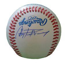 Clayton Richard Autographed Rawlings ROLB1 Leather Baseball, Proof Photo