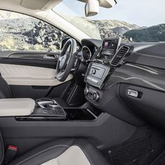 The interior of our first ever AMG sport model, the all-new GLE450 AMG 4MATIC…