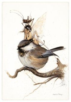 Fairy and fantasy art images, fairy pictures & drawings, flower and butterfly illustrations from Fairies World. Fairies World, Fairy & Fantasy Art Gallery - Jean-Baptiste Monge (Paintings)/JBMONGE Magical Creatures, Fantasy Creatures, Fantasy World, Fantasy Art, Illustrations, Illustration Art, Elves And Fairies, Fairy Art, Dragons