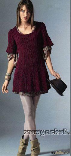 5c68e6162d18 Лучших изображений доски «Вязание   платья, сарафаны, туники»  104 в ...
