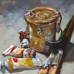 "Daily Paintworks - ""Grungy Goodness"" - Original Fine Art for Sale - © Karen Werner"