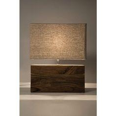Wood Lamp Base, Wooden Lamp, Best Desk Lamp, Charred Wood, Handmade Lamps, Concrete Lamp, Rustic Lamps, Kare Design, Lamp Shades