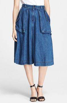 MARC BY MARC JACOBS Denim Utility Skirt available at #Nordstrom