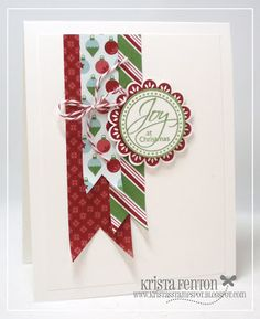 Krista's Stamp Spot: Perfect Punches is a Winner!