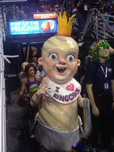 Scariest Mascot on the planet!