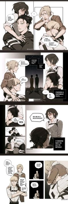 Attack On Titan Comic, Attack On Titan Fanart, Attack On Titan Ships, Armin Snk, Eren X Mikasa, Manga Rock, Attack On Titan Aesthetic, Cool Anime Wallpapers, Eremika