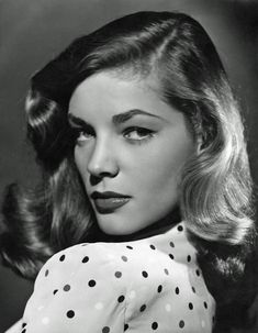 Lauren Bacall. I love this picture.