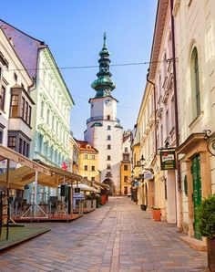 12 Least Expensive (but Most Dazzling) European Cities bratislava slovakiabratislava slovakia Places To Travel, Places To See, Travel Destinations, Peace Pictures, Bratislava Slovakia, Reisen In Europa, Travel Icon, Countries To Visit, Cheap Travel