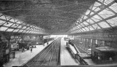 Renamed Pearse Station in 1966 Dublin Ireland, Ireland Travel, Old Pictures, Old Photos, Photo Engraving, Dublin City, Busses, Train Station, The Row
