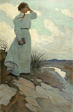 N.C. WYETH  UnknownOil on Canvas