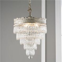 Website for lighting: Vintage Tiered Wedding Cake Crystal Chandelier