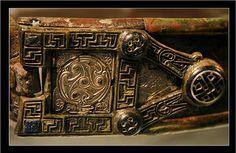 A detail from the Moylough Belt Shrine. Ireland | Flickr: Intercambio de fotos