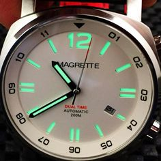 #magrette #dual #time #microbrand #watch