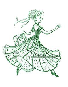687 best frozen images frozen disney elsa frozen snow queen Frozen Elsa's Coronation Party briannacherrygarcia col erase pencil disney sketches disney drawings disney movies