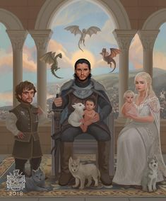 if Game of Thrones ended like a Disney movie. what is your final season predicti… wenn Game of Thrones endete wie ein Disney-Film. Game Of Thrones Ending, Arte Game Of Thrones, Game Of Thrones Artwork, Game Of Thrones Facts, Game Of Thrones Quotes, Game Of Thrones Funny, Game Thrones, Game Of Thrones Jewelry, Game Of Thrones Dragons