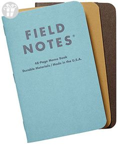 Field Notes Nixon Limited Edition 3 Pack (*Amazon Partner-Link)